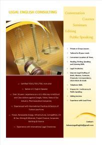 Legal English Flyer